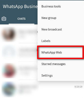 Log out From all Devices pada WhatsApp Web
