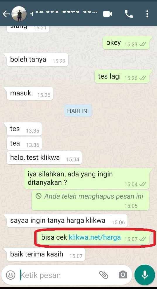Gambar Whatsapp host