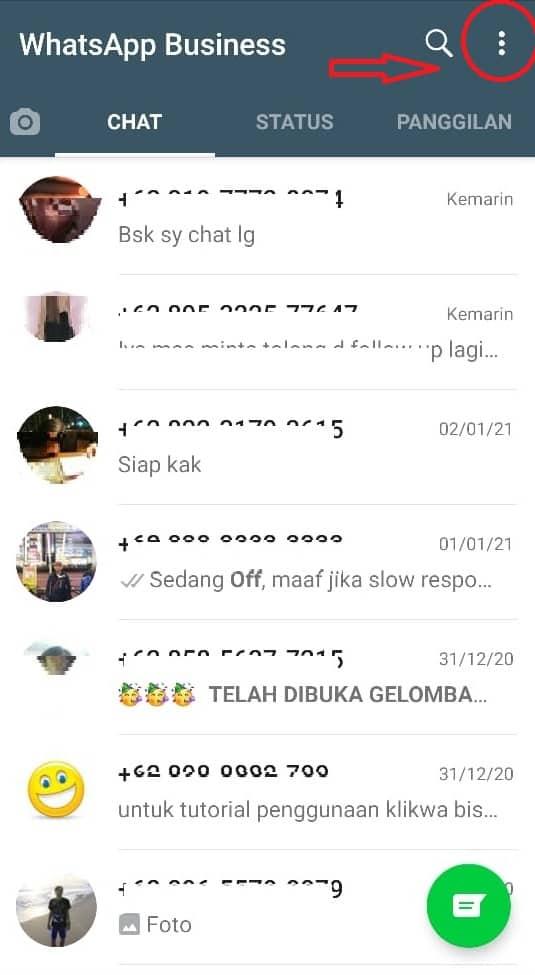 Cek Veris Whatsapp